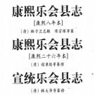 乐会县志 三种PDF下载