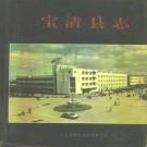宝清县志 1993版 PDF下载