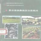 景谷傣族彝族自治县概况 1990版 PDF下载