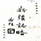 民国新疆志略 许崇灏纂 民国34年正中书局铅印本 PDF下载